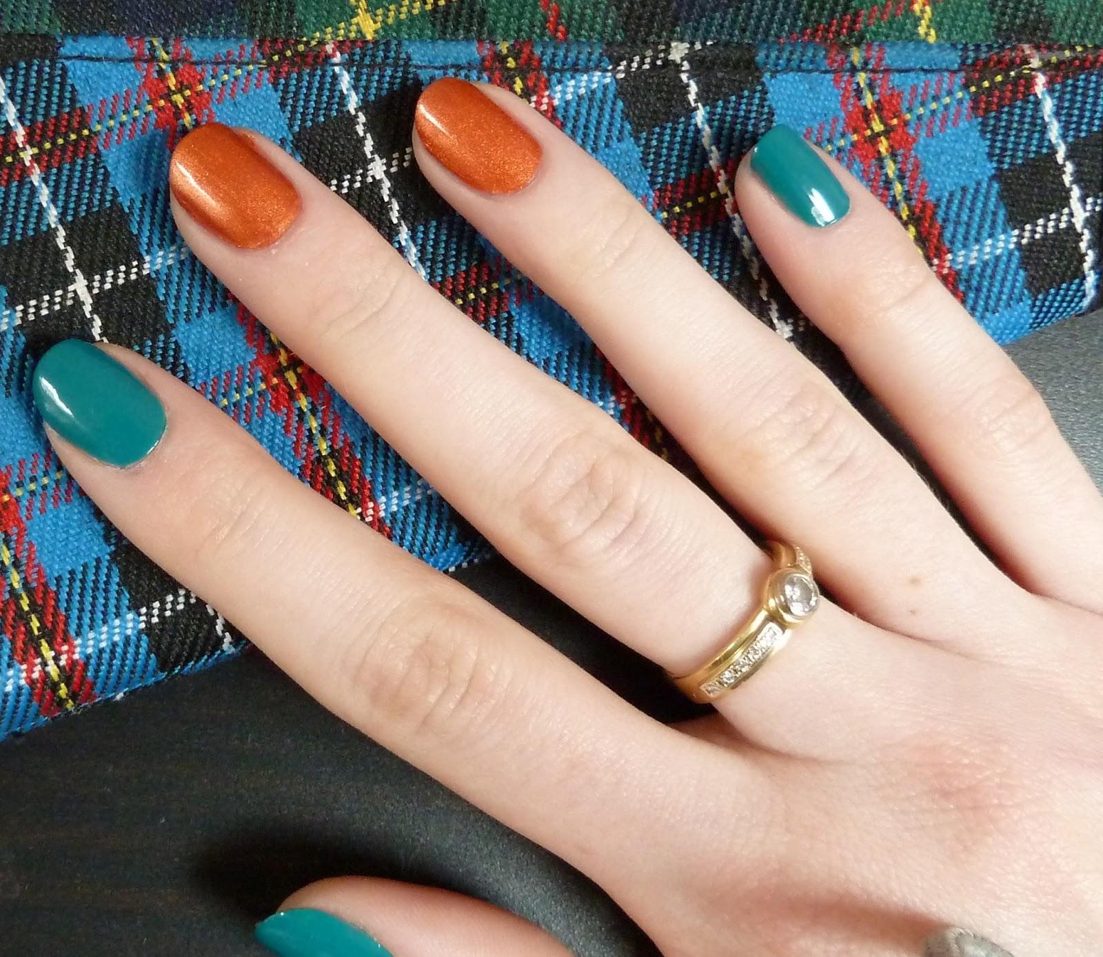 Что обозначает красить ногти в разный цвет