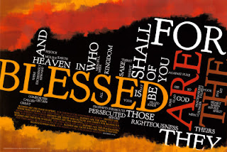 beatitudes word cloud