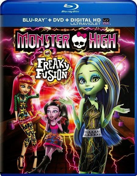 ดูการ์ตูน Monster High Freaky Fusion มอนสเตอร์ไฮ อลเวงปีศาจพันธุ์ใหม่