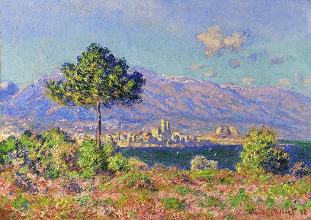 Claude Monet Antibes, vue du Plateau Notre-Dame. 1888