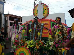 Reinas del Carnaval 2012
