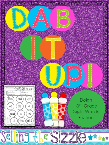 http://www.teacherspayteachers.com/Product/Dab-It-Up-With-the-3rd-grade-Dolch-Word-List-1272368
