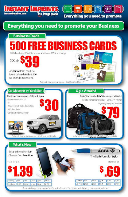 here are a number of offers that could be used to make your business club event or department more visible to your customers