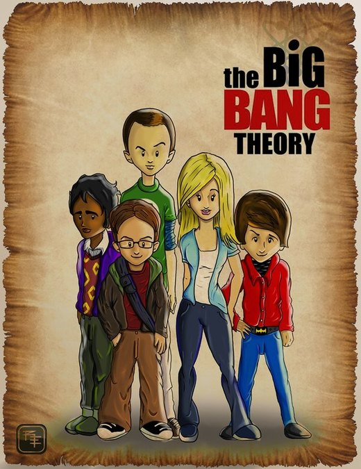 The Big Bang Theory por Renk90