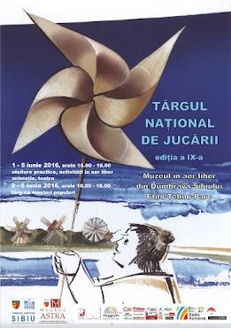 Târgul Național de Jucării, ed. a IX-a, 1 - 5 iunie 2016