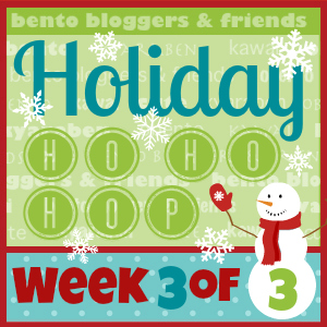 Holiday bento Blog Hop