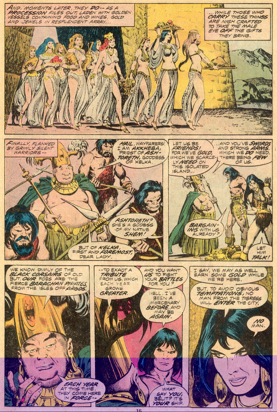 Conan the Barbarian (1970) Issue #70 #82 - English 10