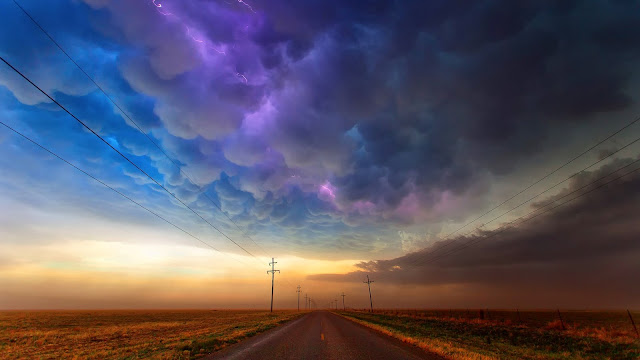 Colorful Cloudy Sky HD Wallpaper