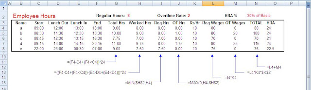 calculate overtime pay excel spreadsheet payroll