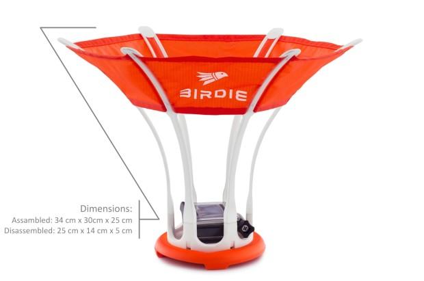 Le Birdie est l\u0027accessoire de plage parfaite convertir rapidement votre  GoPro dans un volant surdimensionné. Un petit montage interne vous permet  de