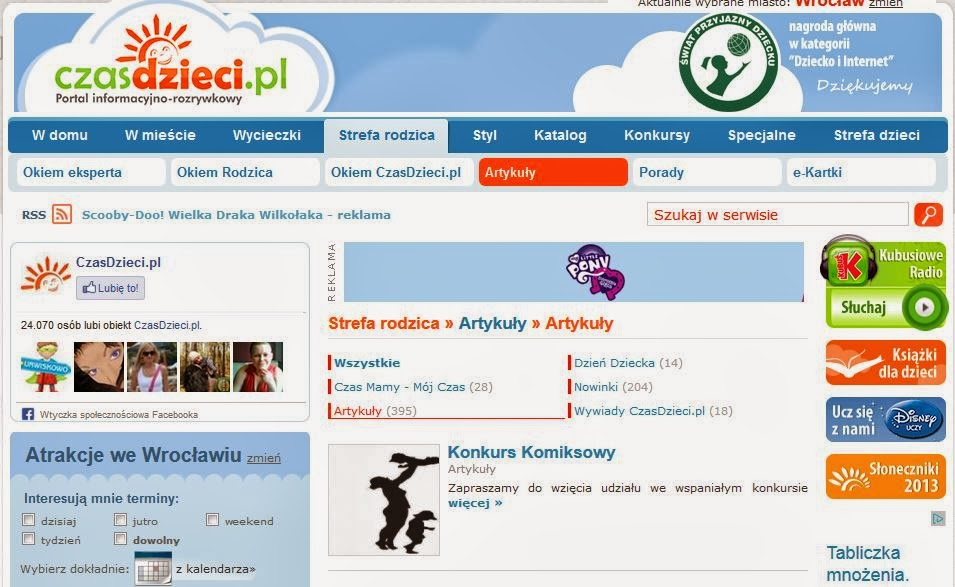 http://czasdzieci.pl/ro_artykuly/d,48-artykuly.html