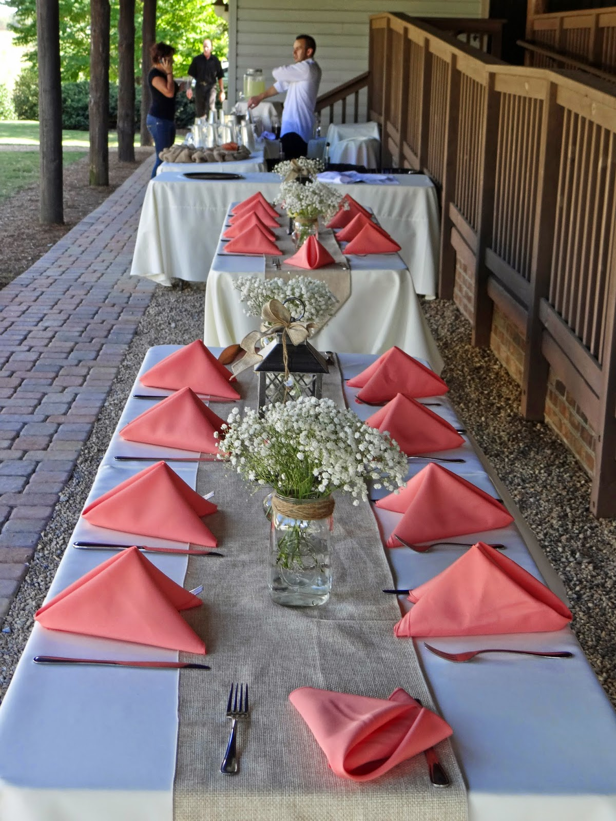 outdoor wedding reception South Carolina