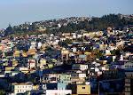 Qué es lo que se ve cuando el mar mira hacia los cerros de Valparaíso...