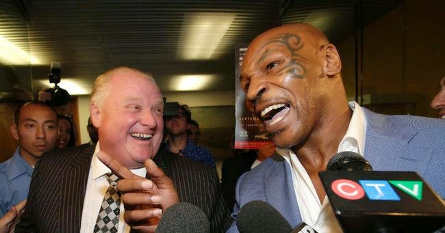 rob ford, mike tyson, undisputed truth, toronto mayoral election,