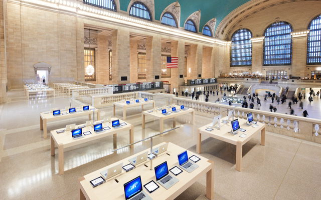 Apple, Grand Central, Nueva York, Tienda