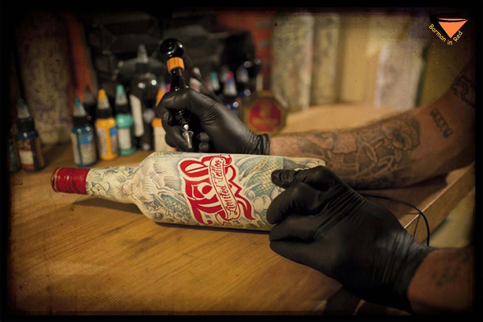 Whisky J & B Tatuaje