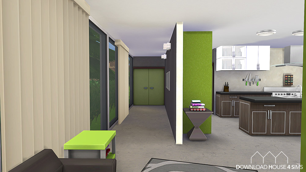My sims 4 blog lime modern kitchen room by samuel for Modern kitchen sims 3