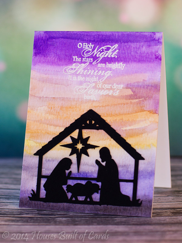 My craft spot sneak peek day 2 o holy night for O holy night decorations