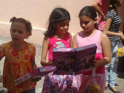 Natal fora de época - Ação da IAM e JM em Fortaleza/CE