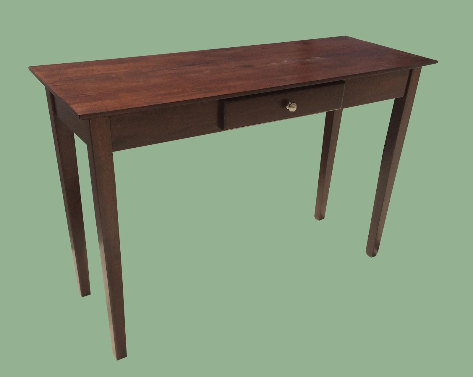 Uhuru Furniture Collectibles Narrow Dark Wood Sofa