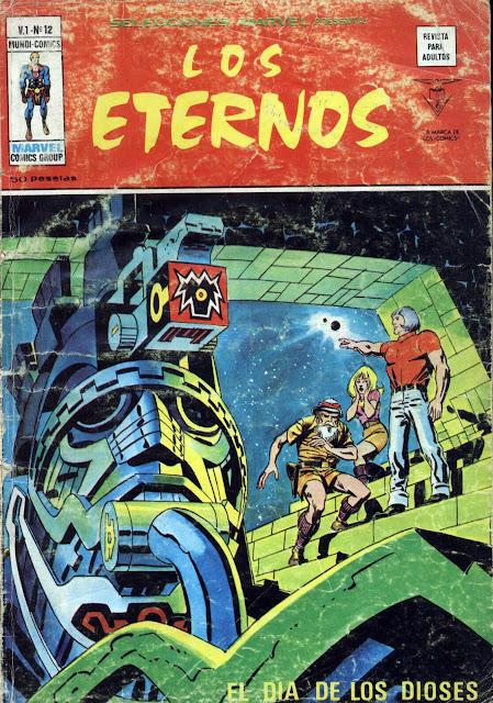 Portada de Los Eternos-Selecciones Marvel Volumen 1 Nº 12 Ediciones Vértice
