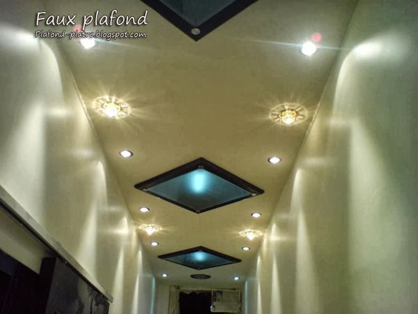 Plafond d coration maison 2014 - Decoration platre couloir ...