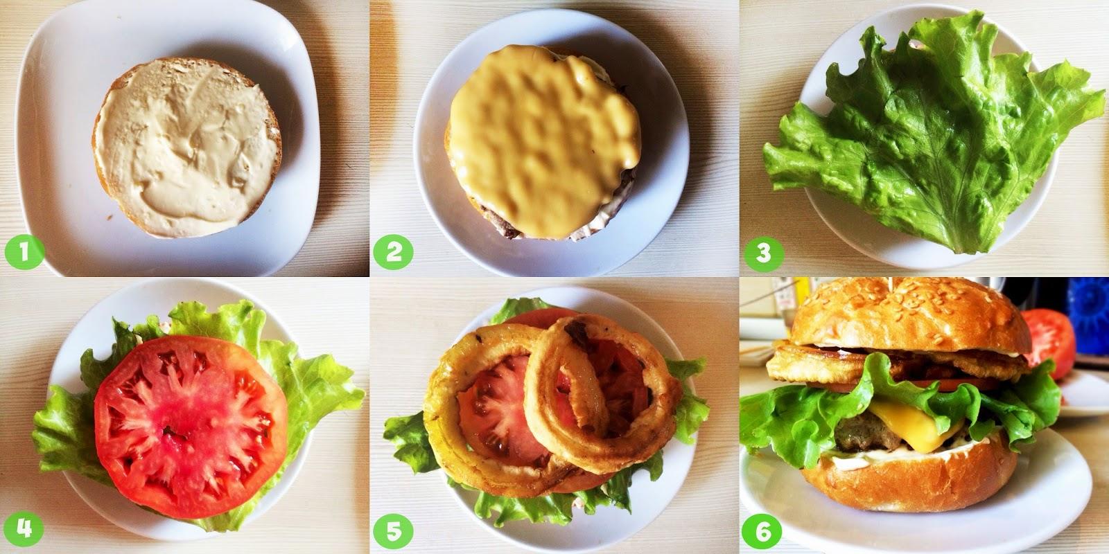 Как сделать свой гамбургер 30