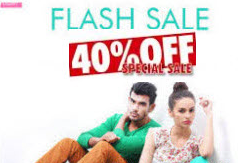 Myntra: Buy Clothing, Footwear & Accessories at 40% off,  from Rs. 94