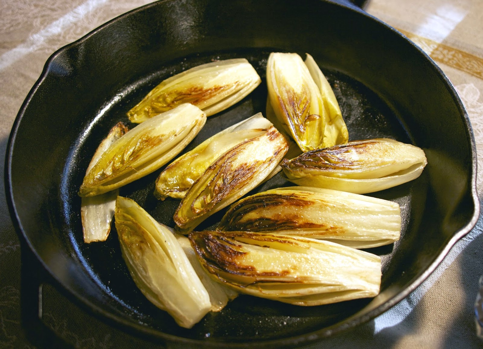 braised endives: simplelivingeating.com