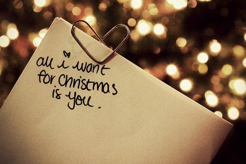 All I Want For Christmas Is {YOU}!