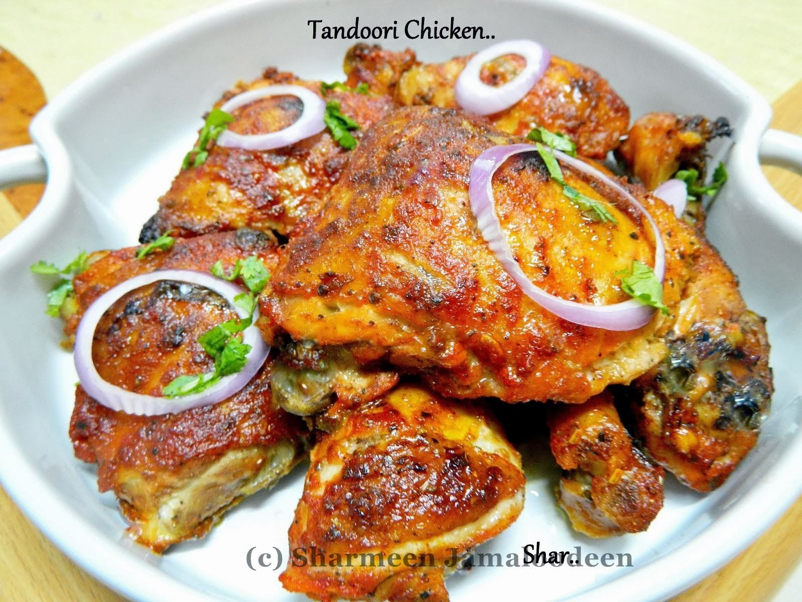 Tandoori Chicken ( Oven Baked) | Confessions Of A Foodaholic