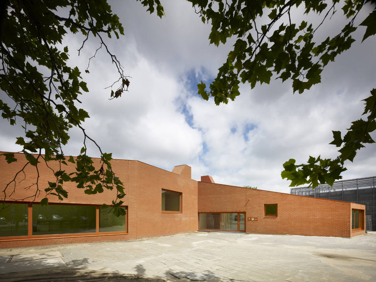 The new school will be situated in relation to the electricity-house, in a  way that together, these two buildings will define a new safe and inviting  ...