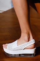 Летни обувки на равна платформа на Stella McCartney