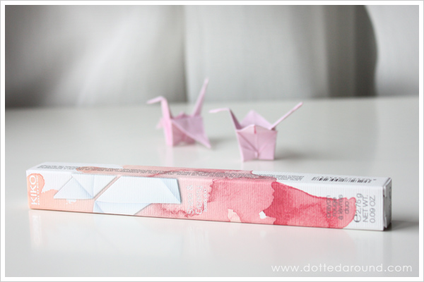 Kiko matita lipstick duo Blooming Origami