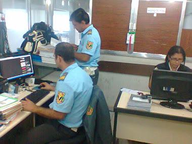Equipe do Trânsito em mutirão para despachar processos