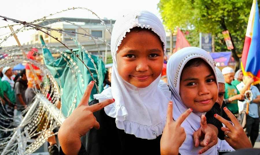 Filipino Muslim Children
