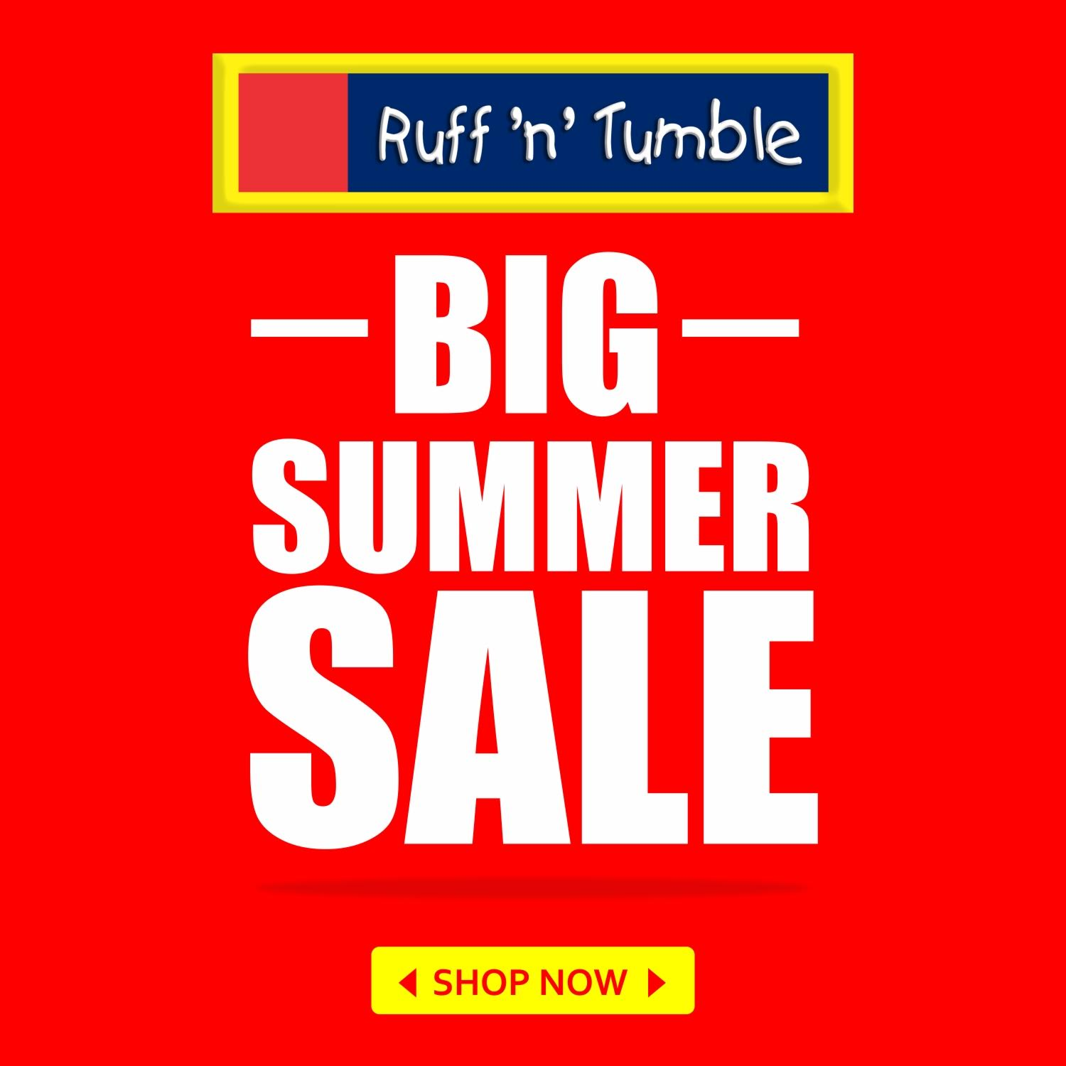 SHOP RUFF 'N' TUMBLE!