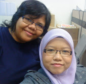 so sweet with my supervisor...:-)
