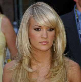 carrie underwood hairstyle 2 Carrie Underwood Long Blonde Romantic Curly Hairstyles
