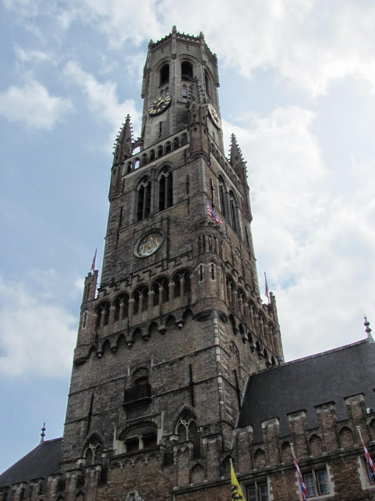 Bruges Bell Tower, Belgium