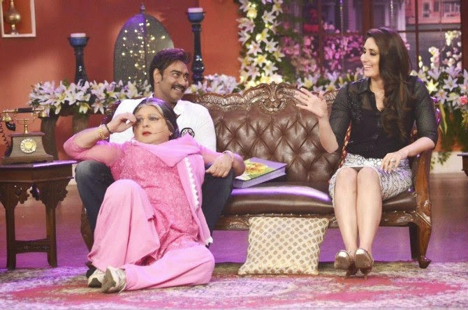 Singham Returns Promotion On Comedy Nights