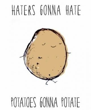 Hates Gonna Hate - Potatoes Gonna Potate