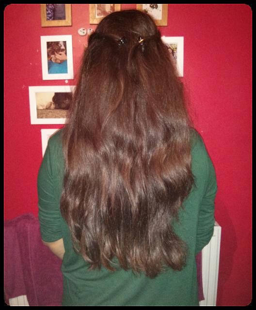 no wash hair, day 5 hair, hair challenge, desi hair, long hair care, no poo hair