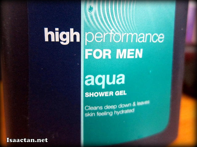 High Performance for Men - Aqua Shower Gel