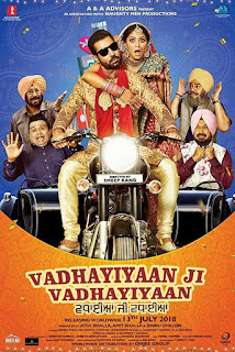 Vadhayiyaan Ji Vadhayiyaan (2018) Punjabi Movie HDTVRip Download