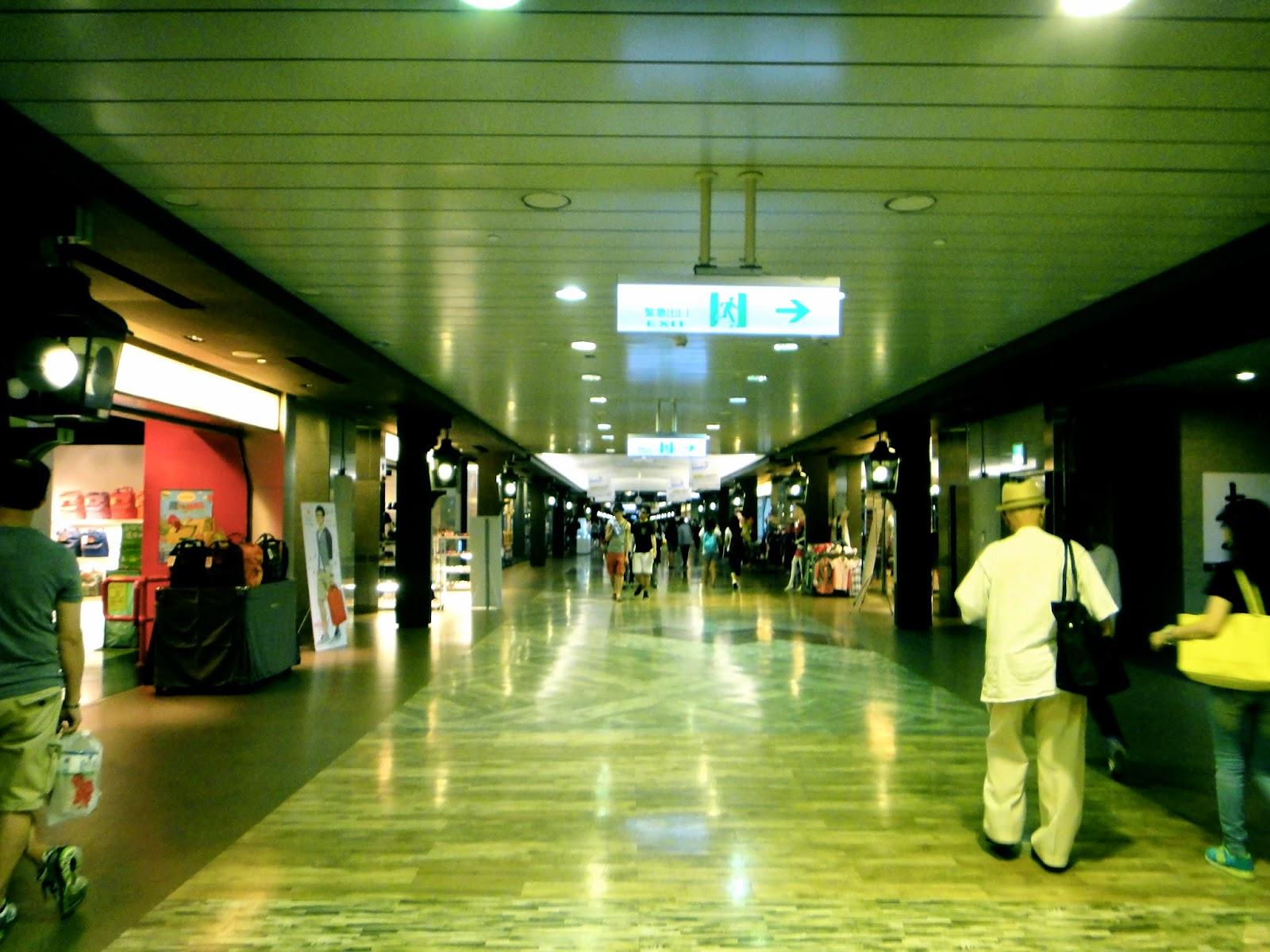 K Underground Mall Shops Taipei Main Station