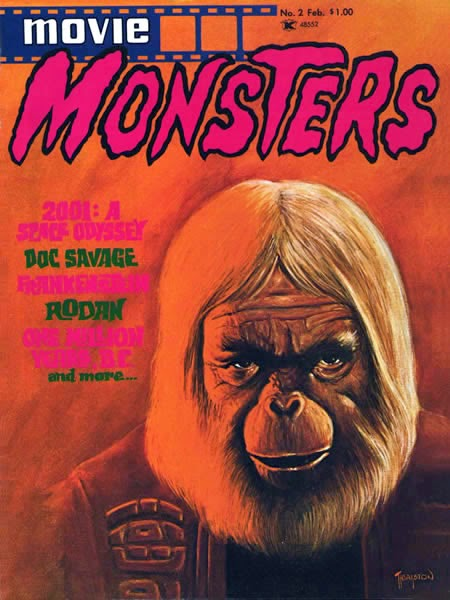 Atlas Seaboard Movie Monsters #2, Planet of the Apes