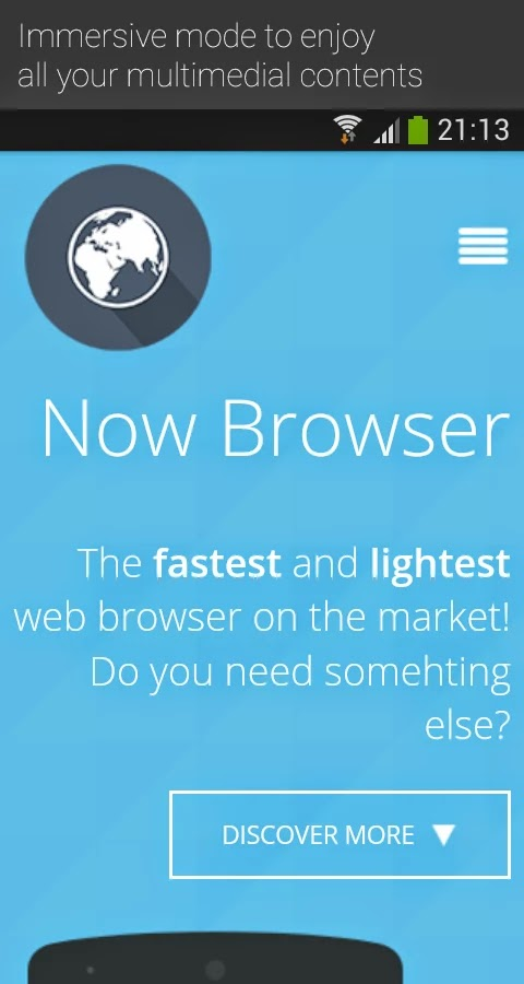 Now Browser Pro (Material) v2.9.9a