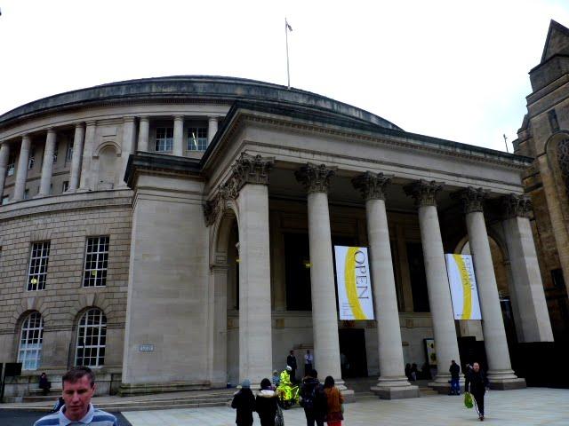 Exterior Biblioteca de Manchester
