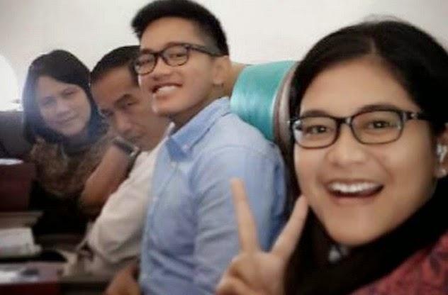 foto keluarga Jokowi Presiden Indonesia